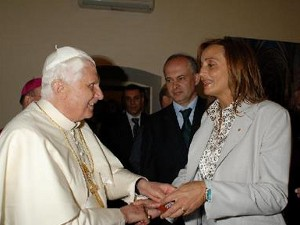 Travicelli e Benedetto XVI